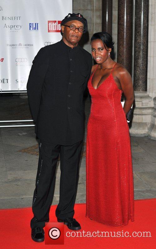 Samuel L. Jackson and Sophie Davies Shooting Stars...