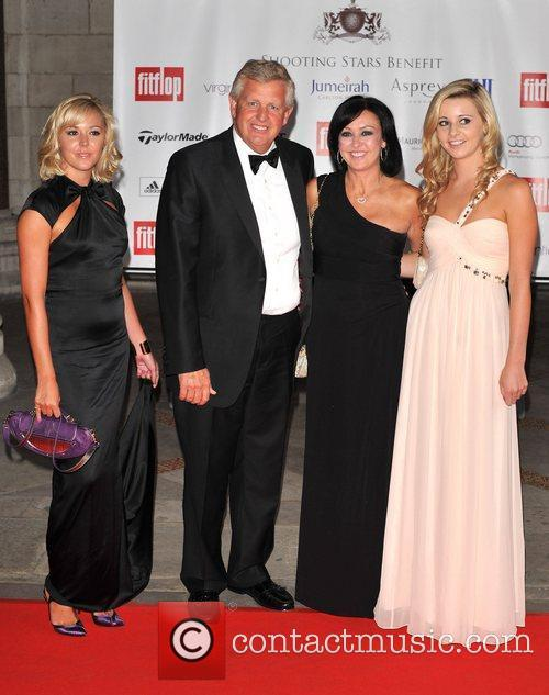 Colin Montgomerie and guests Shooting Stars Benefit -...