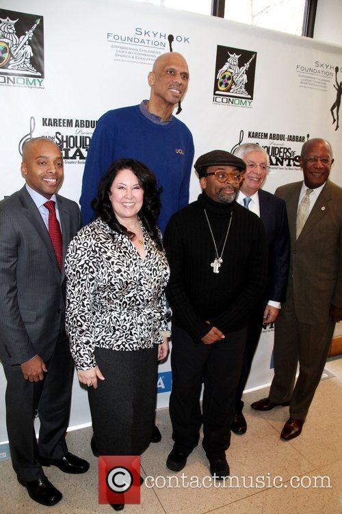 Kareem Abdul-Jabbar presents on the Shoulders of Giants...