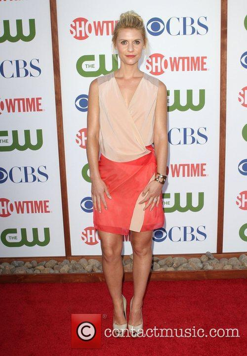 Claire Danes CBS,The CW And Showtime TCA Party...