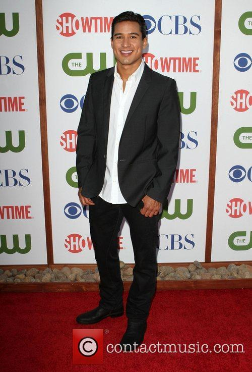 Mario Lopez CBS,The CW And Showtime TCA Party...