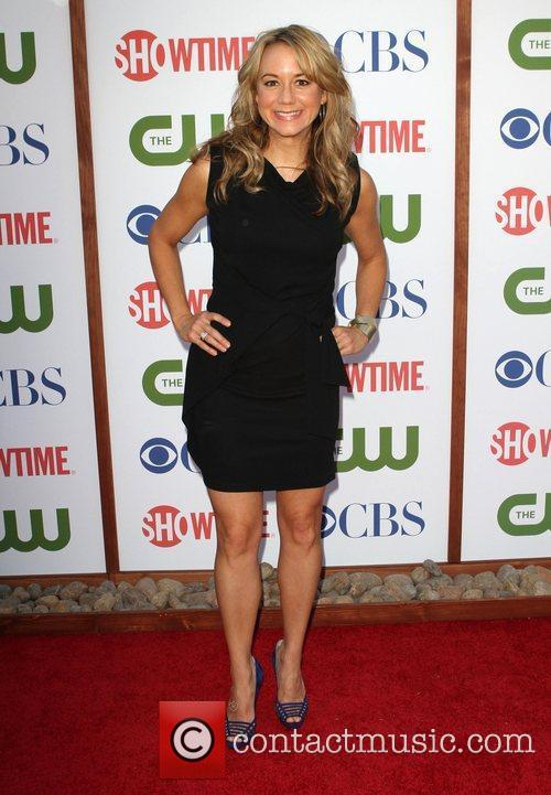 Megyn Price CBS,The CW And Showtime TCA Party...