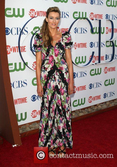 Natascha McElhone CBS,The CW And Showtime TCA Party...