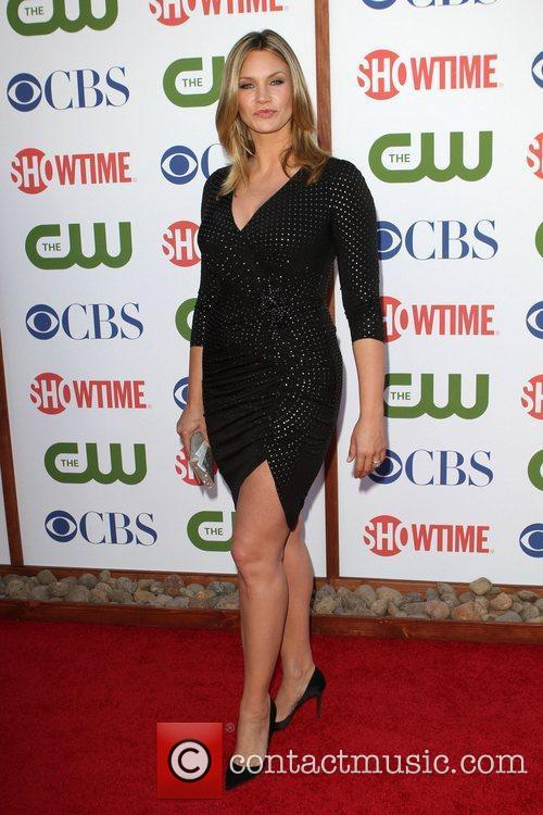 Natasha Henstridge CBS,The CW And Showtime TCA Party...