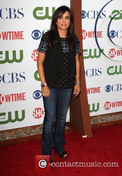 Pamela Adlon CBS,The CW And Showtime TCA Party...