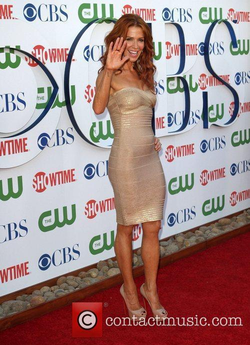 Poppy Montgomery CBS,The CW And Showtime TCA Party...