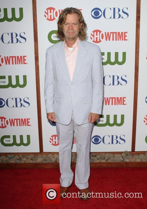 William H. Macy CBS,The CW And Showtime TCA...