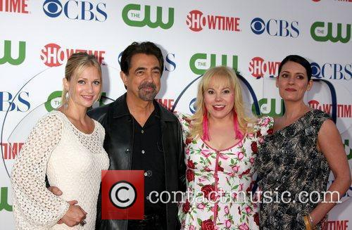 A.j. Cook, Joe Mantegna and Kirsten Vangsness