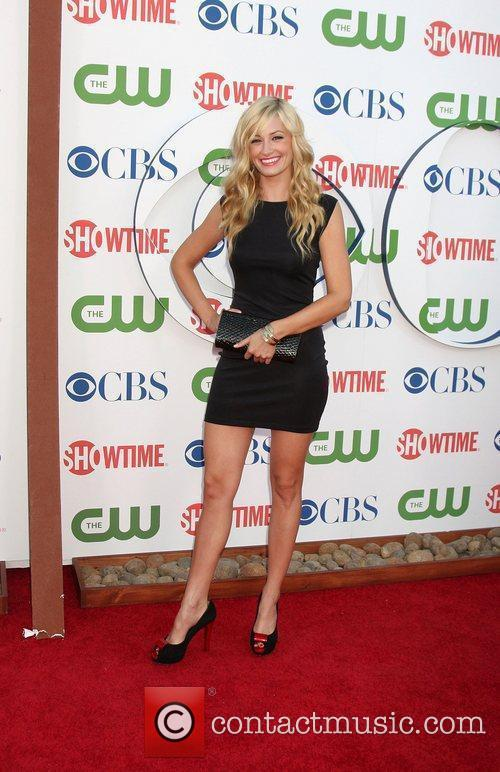 Beth Behrs CBS,The CW And Showtime TCA Party...