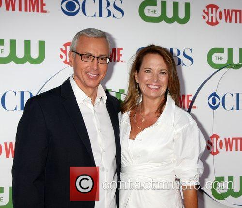 Drew Pinsky with his wife Susan CBS,The CW...