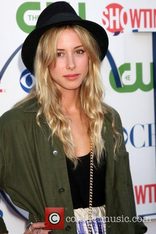 Gillian Zinser CBS,The CW And Showtime TCA Party...