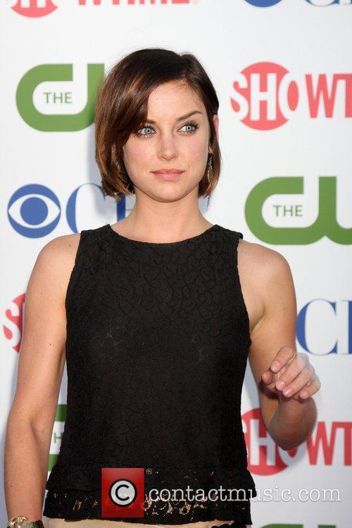Jessica Stroup CBS,The CW And Showtime TCA Party...