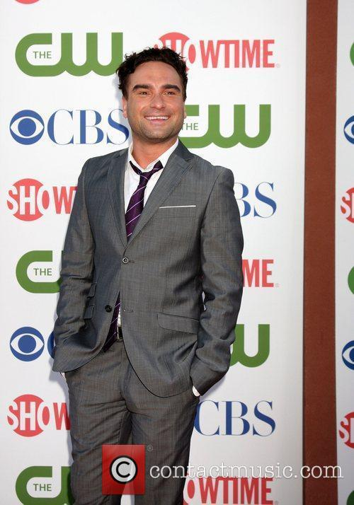 Johnny Galecki CBS,The CW And Showtime TCA Party...
