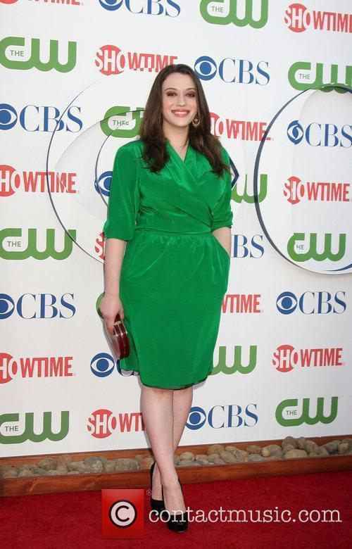 Kat Dennings CBS,The CW And Showtime TCA Party...