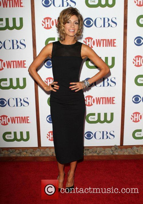 Dawn Olivieri CBS,The CW And Showtime TCA Party...