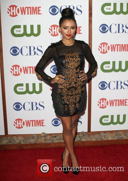 Kat Graham CBS,The CW And Showtime TCA Party...