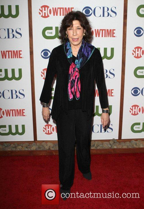 Lily Tomlin CBS,The CW And Showtime TCA Party...