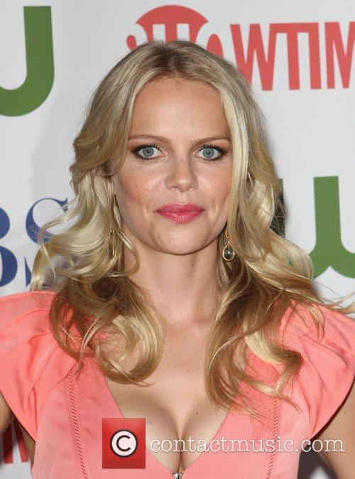 Mircea Monroe CBS,The CW And Showtime TCA Party...