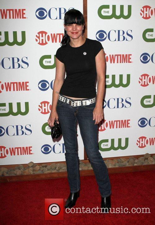 Pauley Perrette CBS,The CW And Showtime TCA Party...