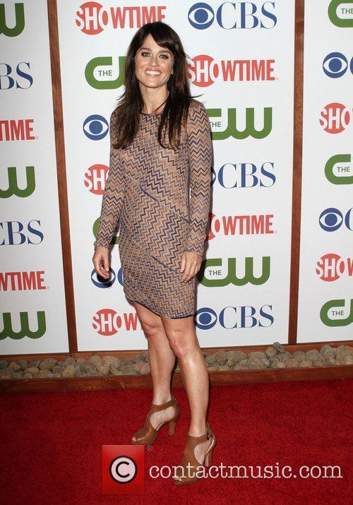 Robin Tunney CBS,The CW And Showtime TCA Party...