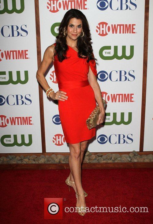 Samantha Harris CBS,The CW And Showtime TCA Party...