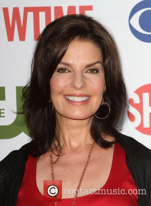 Sela Ward CBS,The CW And Showtime TCA Party...
