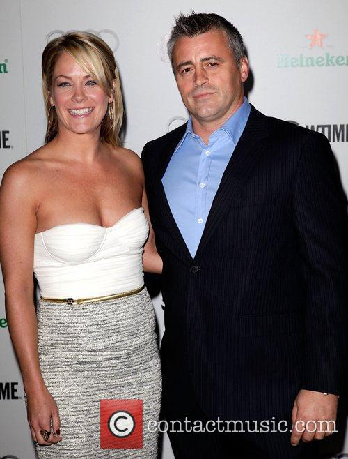Andrea Anders and Matt LeBlanc Showtime Emmy Nominee...
