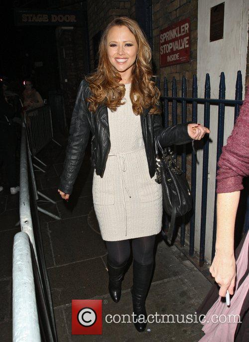 kimberley walsh leaving the theatre royal having 3623020