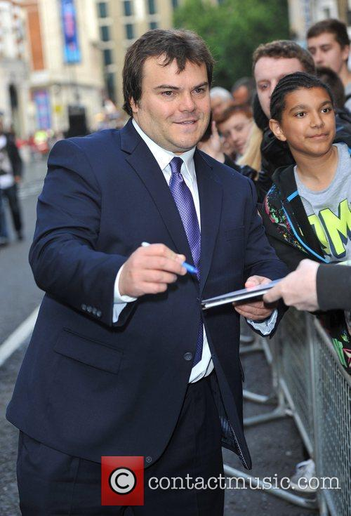 Jack Black 'Shrek the Musical' royal gala performance,...