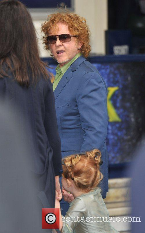 Mick Hucknall 'Shrek the Musical' royal gala performance,...