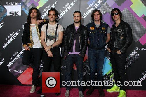 Nick Valensi, Albert Hammond Jr, Fabrizio Moretti, Julian Casablancas and The Strokes