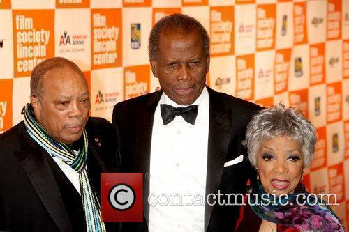 Quincy Jones, Ruby Dee and Sidney Poitier 2