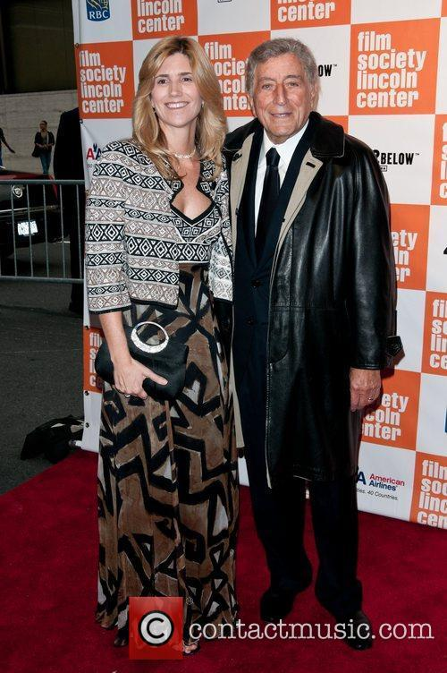 Susan Crow and Tony Bennett Lincoln Center Film...
