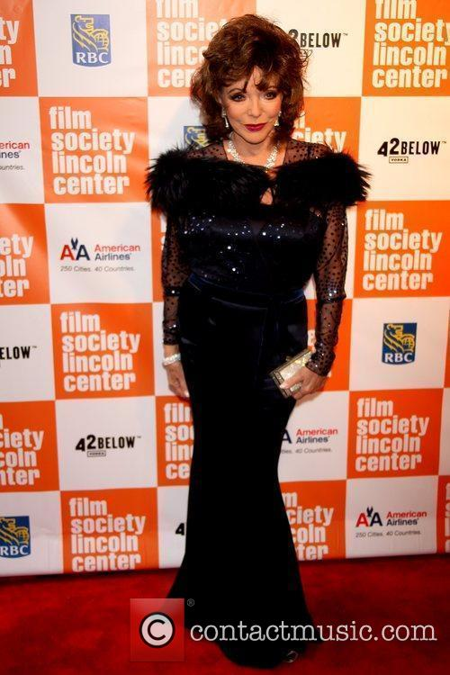 Attends the Lincoln Center Film Society's 2011 Chaplin...