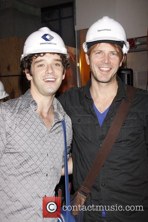 Michael Urie and Bill Heck Press conference announcing...