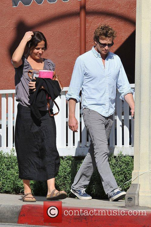 'The Mentalist' actor, Simon Baker and his wife...