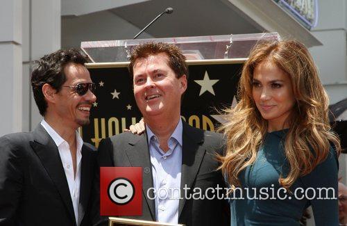 Marc Anthony, Jennifer Lopez and Simon Fuller 4