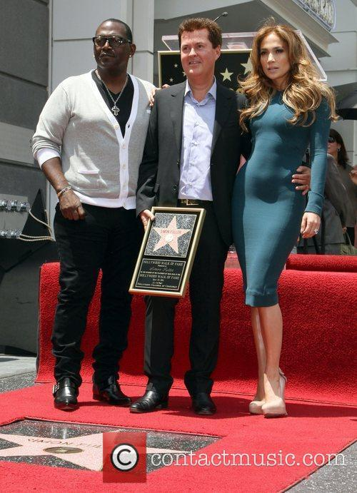 Randy Jackson, Jennifer Lopez and Simon Fuller 3
