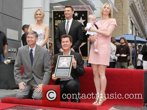 Carrie Underwood, Ryan Seacrest and Simon Fuller 3