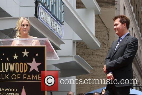 Carrie Underwood and Simon Fuller 2