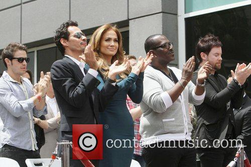Randy Jackson, Jennifer Lopez and Marc Anthony 7