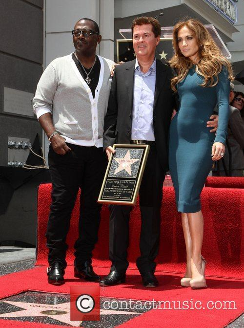 Randy Jackson, Jennifer Lopez and Simon Fuller 1