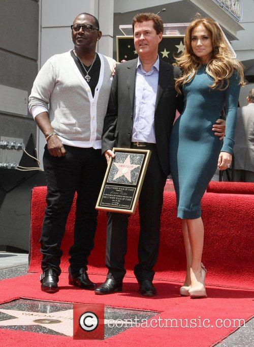 Randy Jackson, Jennifer Lopez and Simon Fuller 5