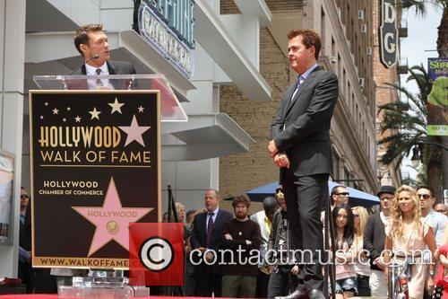 Ryan Seacrest and Simon Fuller 3