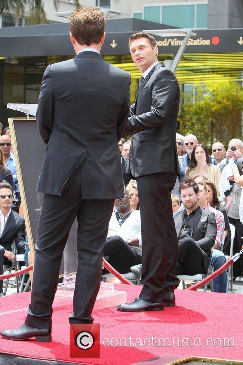 Ryan Seacrest and Simon Fuller 2