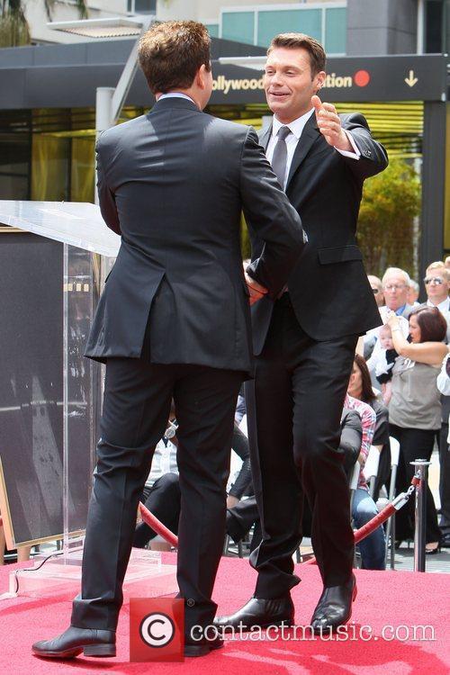 Ryan Seacrest and Simon Fuller 1