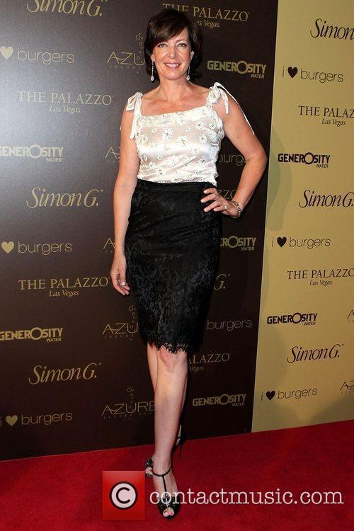 Allison Janney Simon G Summer Soiree at The...