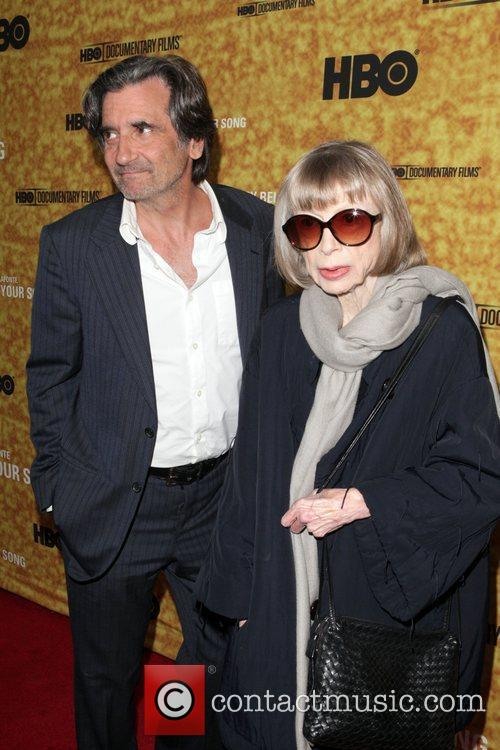 Griffin Dunne and Joan Didion