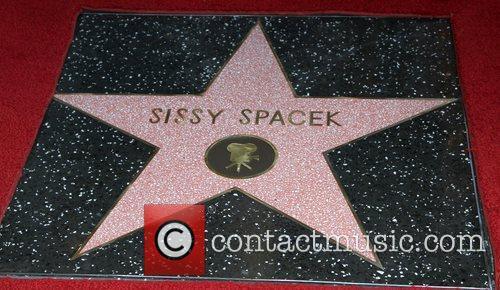 Atmosphere Sissy Spacek receives a star on the...