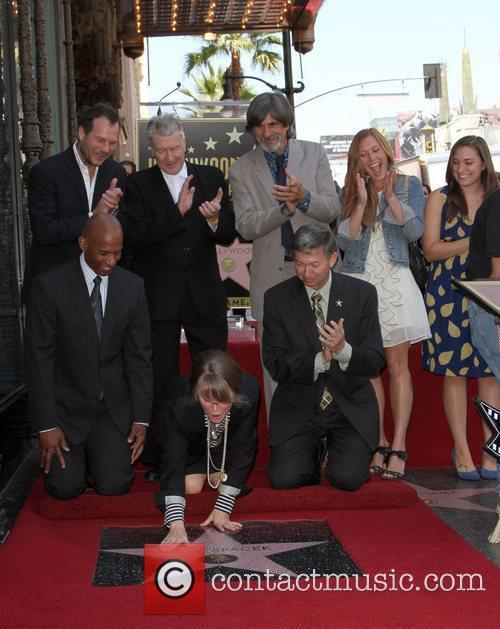 Bill Paxton, David Lynch, Sissy Spacek, Jack Fisk,...